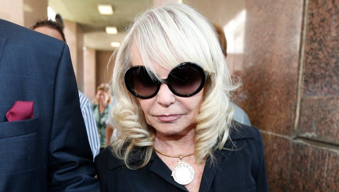 Shelly Sterling, 79, arrives at court in Los Angeles on July 9 for continuation of the probate trial against her husband, Donald Sterling, which could lead to some resolution of the sale of their Los Angeles Clippers to former Microsoft CEO Steve Ballmer.