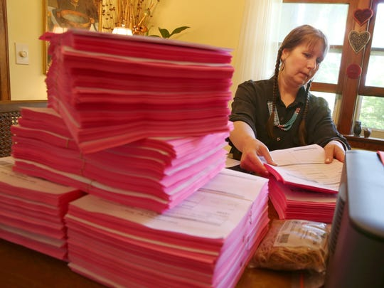 Christina Kretchmer organizes the more than 4,000 bright