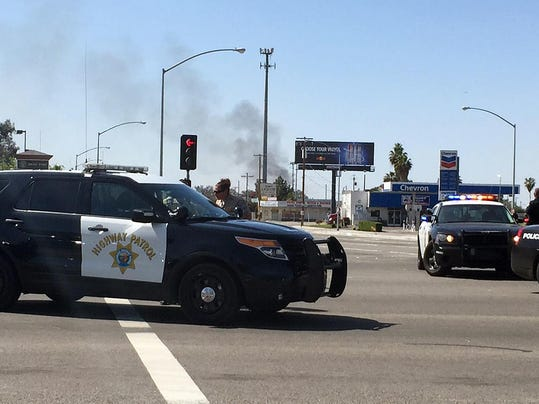 Explosion Closes Highway