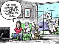 July editorial cartoons