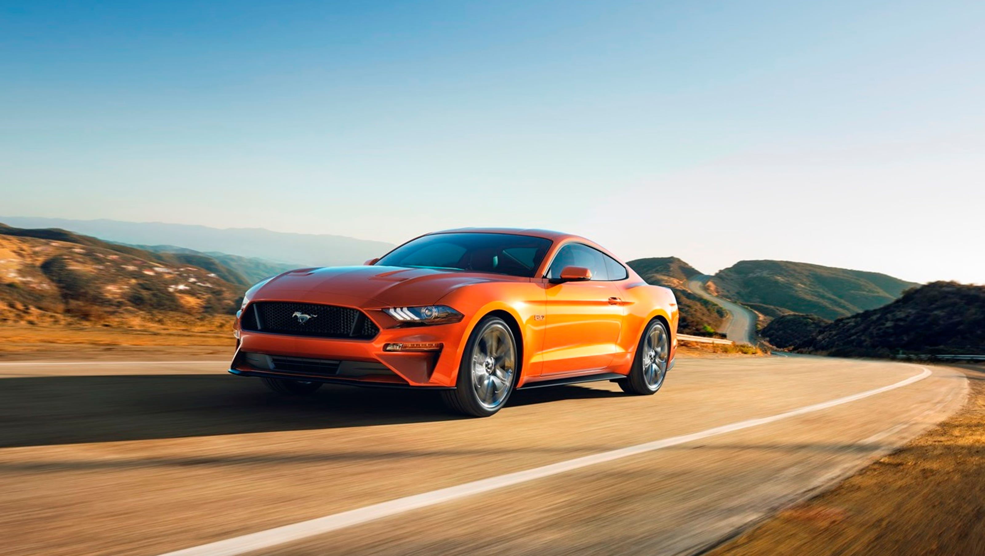 2018 Ford Mustang Adds Power Reduces 0 60 M P H Time