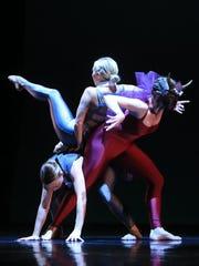 """The Erlkonig,"" choreographed by Rebekah Wainwright,"