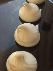 Sweet and Spicy Meringues Kisses can be made ahead