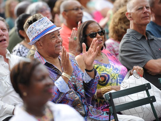 Opening night of the 36th annual Detroit Jazz Festival Friday