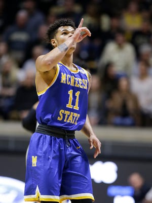 McNeese State guard Kalob Ledoux is transferring to Louisiana Tech.