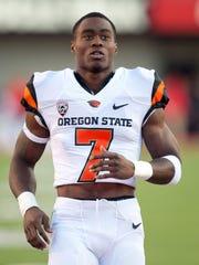 Former Oregon State Beavers wide receiver Brandin Cooks.