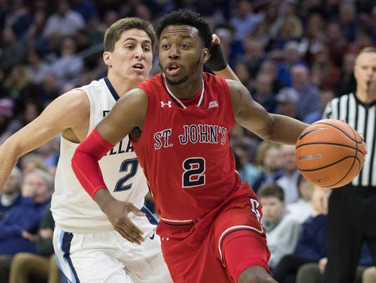Image result for st. john's red storm beats Villanova