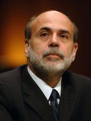 Federal Reserve Board Chairman Ben Bernanke testifies