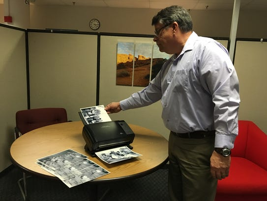 Bruce A. Holroyd of Kodak Alaris pictured here scanning