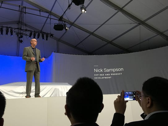 Nick Sampson, a Tesla veteran who is leading product