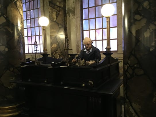 Unfortunately the goblins working at Gringotts don't