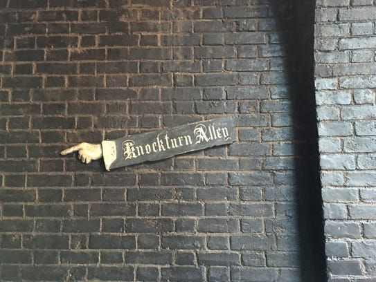Visitors to Diagon Alley should beware what they might