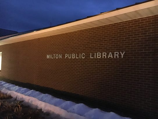 The Milton Public Library.