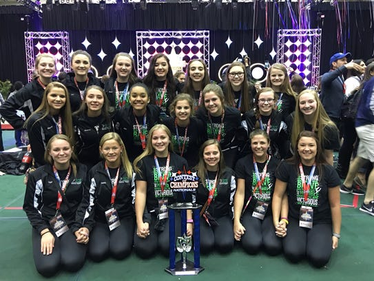 The D.C. Everest Dance Team recently brought home trophies