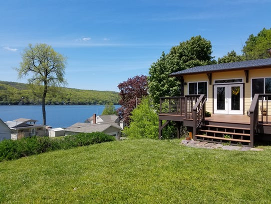 The Olney Place, located on Keuka Lake, offers a carefully