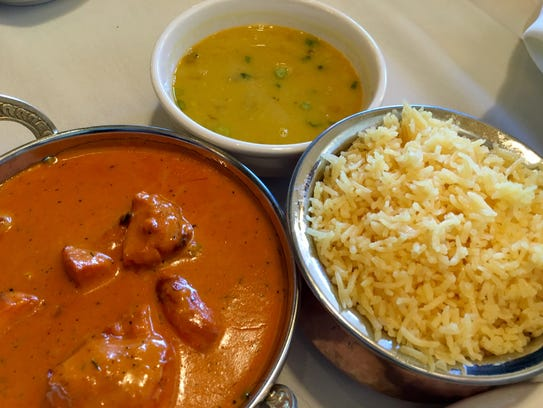The tikka masala at Himalayan Bistro comes with lentil