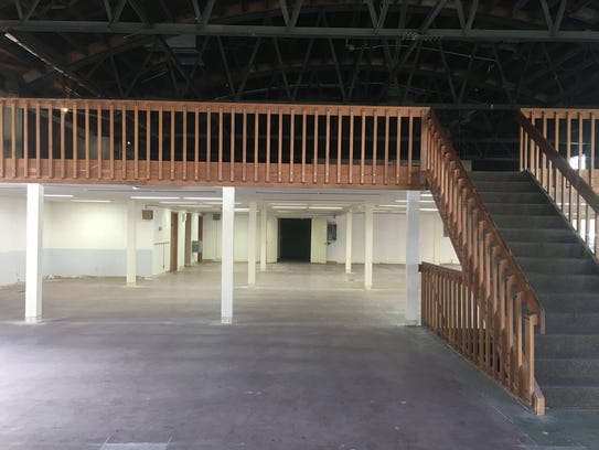 The inside of the Hudson Project building, which is