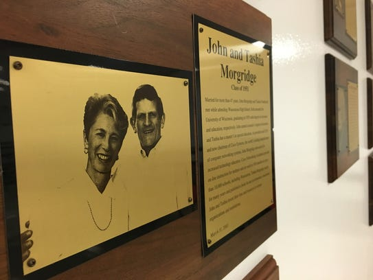 John and Tashia Morgridge are featured on Wauwatosa
