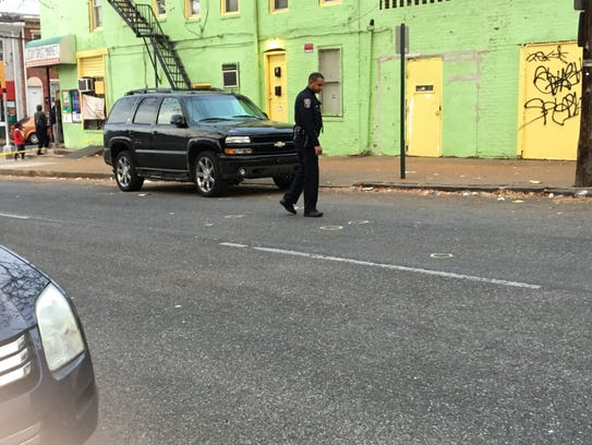 Investigators with Wilmington police looked for a reported