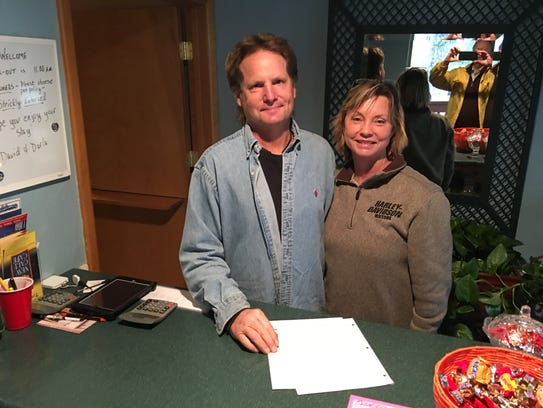 David and Darla Teague brought the Sierra Blanca Cabins
