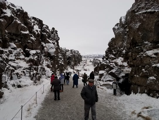 Richard Hoben of Pineville took a recent trip to Iceland.