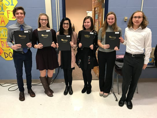 Members of the South Lyon High honors choir. Pictured