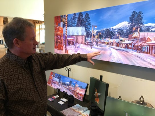 Photographer Robert Flaherty describes how mounting