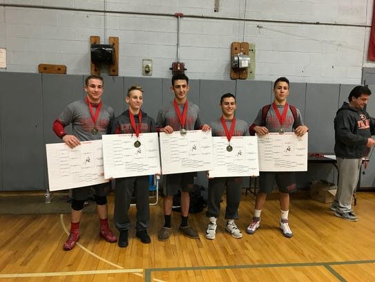 Fair Lawn captured five titles on Saturday from Dylan