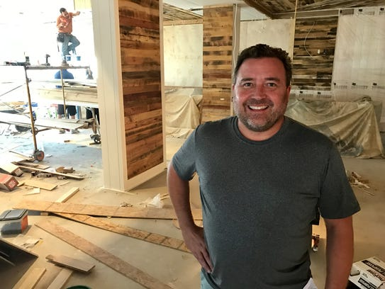 Matt Arnold is the executive chef and co-owner of Point
