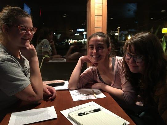 LCCT board members Josie Parsons, Myranda Waldo and