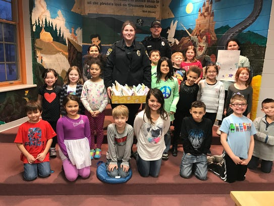 Students in the Kindness Rocks class at Jefferson Community
