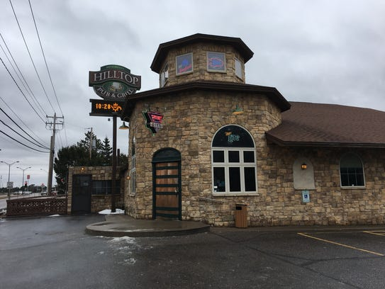 The Hilltop Pub & Grill, 4901 Main St., was among the