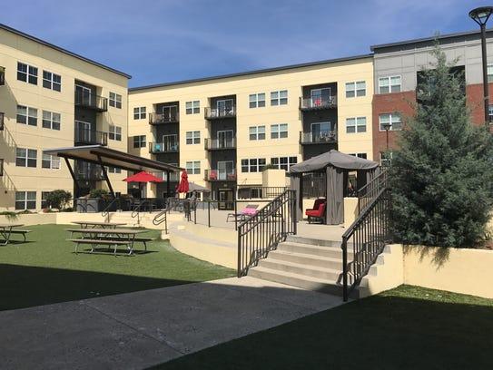 Stadium Centre, a high-end student housing complex,