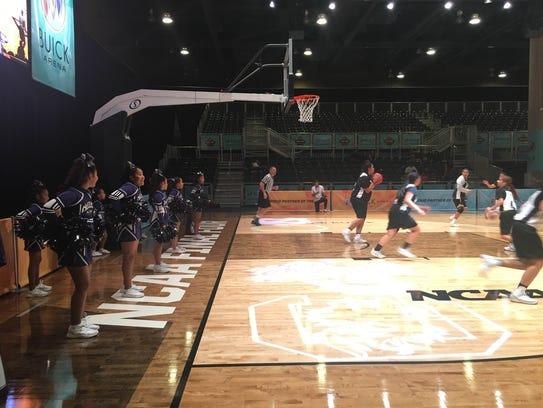 The Native American Basketball Invitational hosts a
