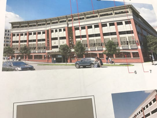 The Planning Board OK'd a revised facade proposed for