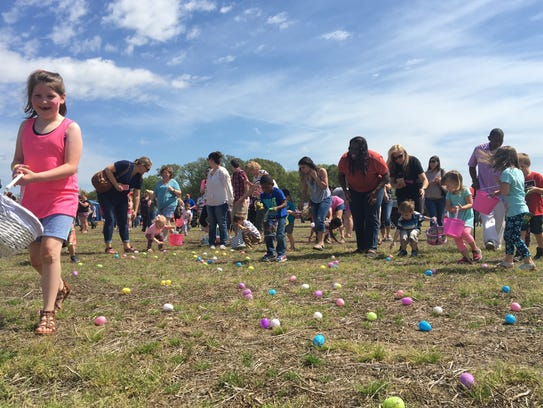 SoulQuest Church held their second EggSplosion Easter