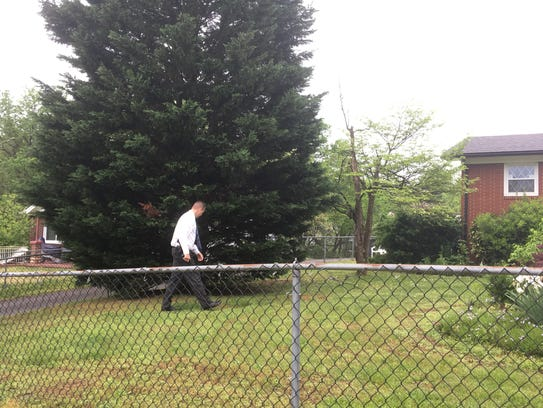 Knoxville police on Thursday morning investigate a