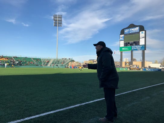 Late last year the Rhinos released their head coach, Bob Lilley, from an option in his contract for the 2018 season. He was immediately hired by the USL's franchise in Pittsburgh.
