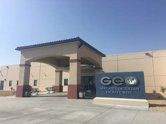 Adelanto Detention Faculty West is an immigration detention