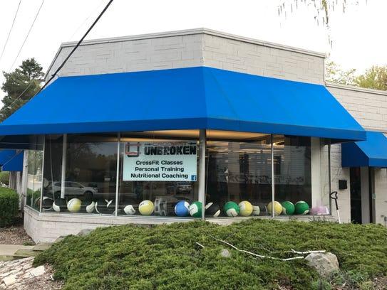 The CrossFit Unbroken location on Columbia Avenue in