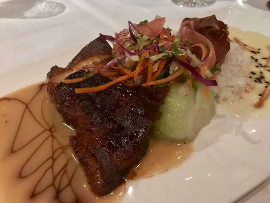 """Butterfish and blackened ahi from the """"Old School"""""""