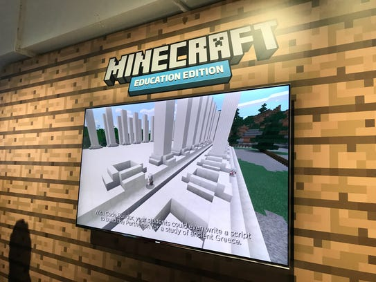 Minecraft: Education Edition also ties into Code Builder.