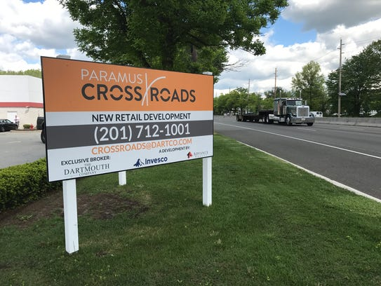 A mixed-use retail development, dubbed Paramus Crossroads,