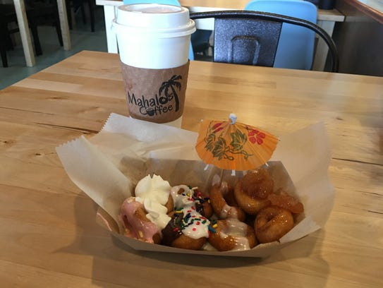 Mahalo's Coffee & Mini Donuts in West Des Moines preps