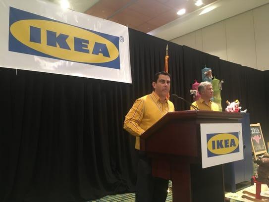 Ikea representatives announce details for a new Nashville