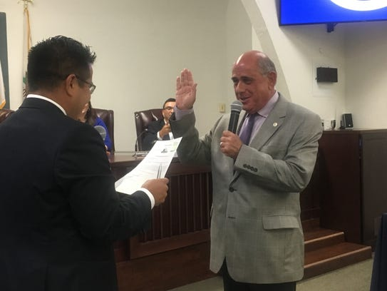 New Coachella City Councilman Steve Brown takes the