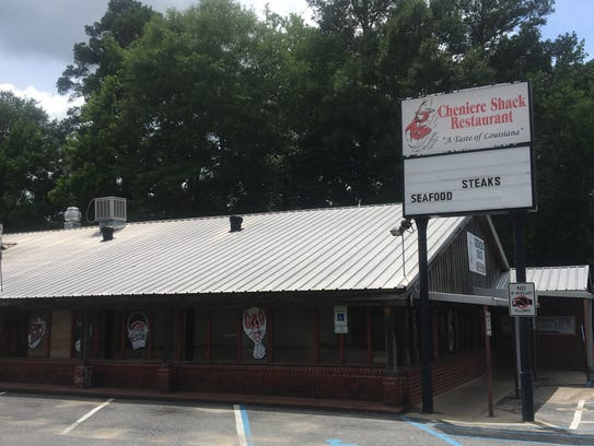 The Cheniere Shack in West Monroe has been serving