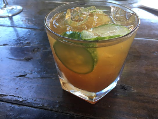 Pimm's Royale available at Fatty Arbuckle's.