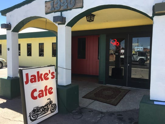 Jake's Cafe at 1340 E. Lohman Ave. June 14, 2017.