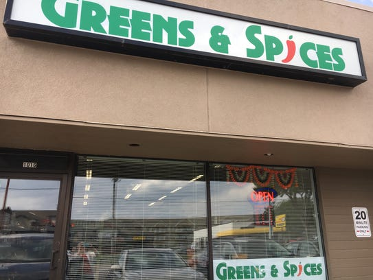 Greens & Spices opened on West 41st Street in April.